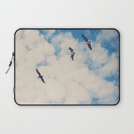Flying Over Seas Laptop Sleeve