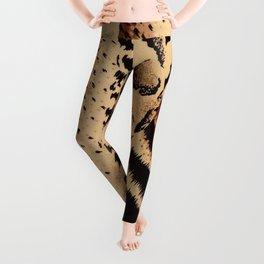 Leopard,tiger print Leggings