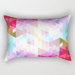 VIVID PATTERN VIII Rectangular Pillow