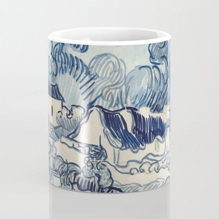 "Vincent van Gogh ""Landscape with Houses"" Coffee Mug"