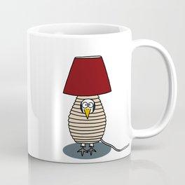 Eglantine la poule (the hen) disguised as a lampe. Coffee Mug