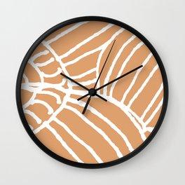 Cone Shell Wall Clock