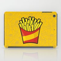 fries iPad Cases featuring French Fries by Sifis