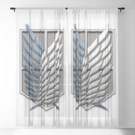 Survey Corps Sheer Curtain