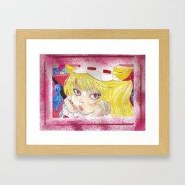 Flandre Framed Art Print