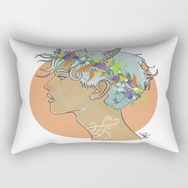 Oberon King of The Fairies Rectangular Pillow