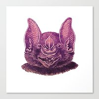 mouse Canvas Prints featuring mouse by KrisLeov