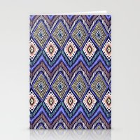 ikat Stationery Cards featuring IKAT by Isabella Salamone