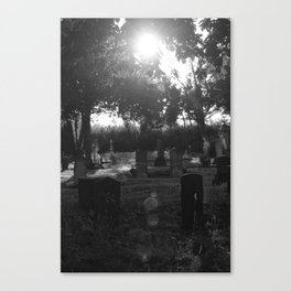 Looper's Cemetery 1 Canvas Print