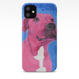 Pink Pitbull iPhone Case