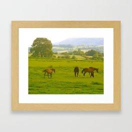 French Hills Framed Art Print