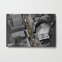 NYC from above Metal Print