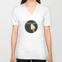 how i met your mother V-neck T-shirts featuring Legendairy Gold - How I Met Your Mother by Tamsin Lucie