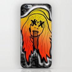Random Girl iPhone & iPod Skin