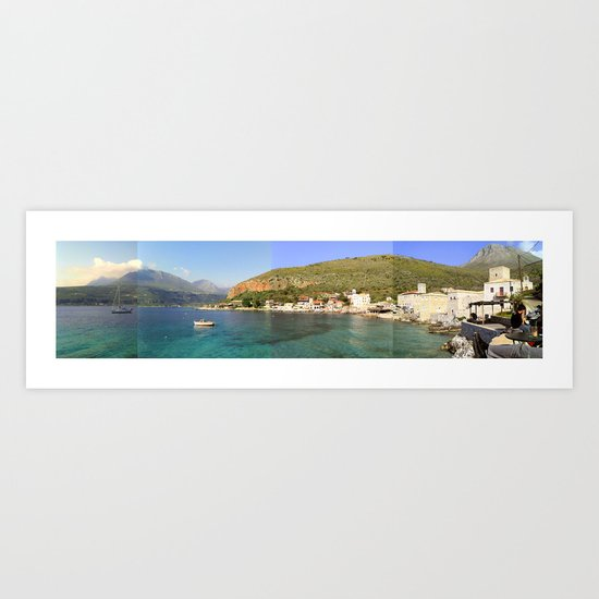 mani.greece Art Print
