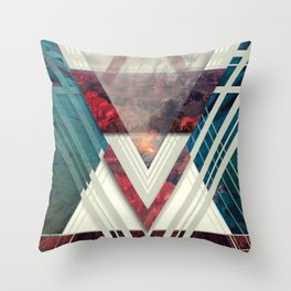 Circle Of Illumination II Throw Pillow
