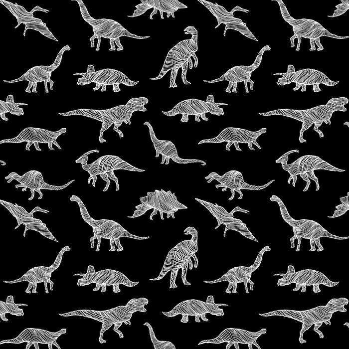 DINOSAURS (BLACK) Leggings