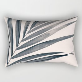 Gray Palm #1 Rectangular Pillow