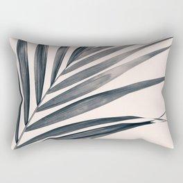 Gray Palm #1 Rectangular Pillow