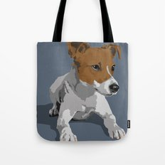 Jack Russell Terrier Dog Tote Bag