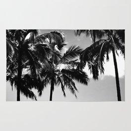 Daydreamy palms Rug