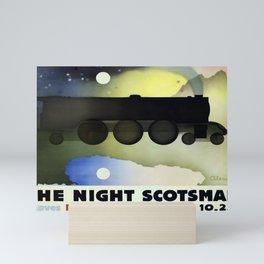 ancienne affiche The Night Scotsman Mini Art Print