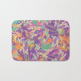 Tropical summer rainforest party Bath Mat