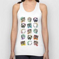 Cats & Bowties Unisex Tank Top