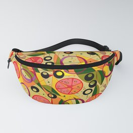 A Veggie Pizza, my Favorite Fanny Pack