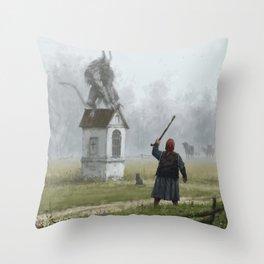 Czart Throw Pillow