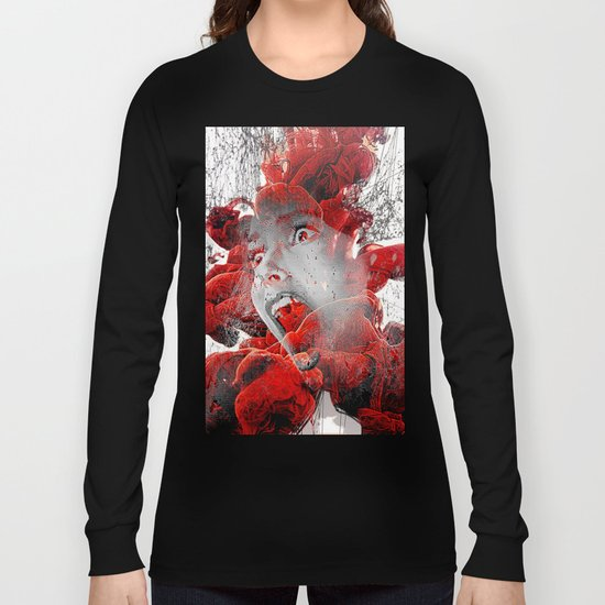 A soul in hell Long Sleeve T-shirt