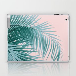Palm Leaves Blush Summer Vibes #3 #tropical #decor #art #society6 Laptop & iPad Skin