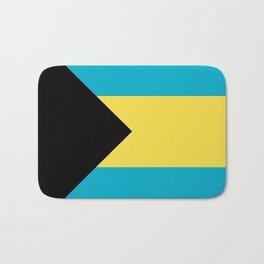 Flag: The Bahamas Bath Mat