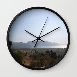 Akyaka to the Bay Of Gokova Wall Clock
