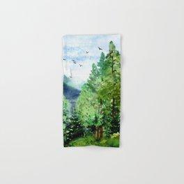 Mountain Forest Hand & Bath Towel