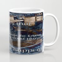 hemingway Mugs featuring Ernest Hemingway by Ginevra