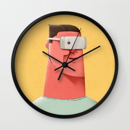 New Reality Wall Clock