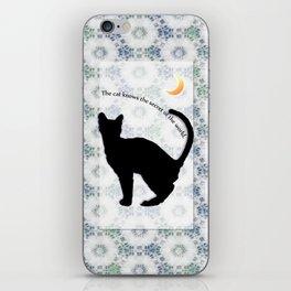 cat_moon iPhone Skin