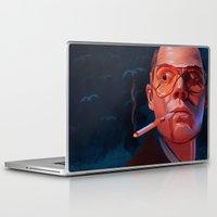 fear and loathing Laptop & iPad Skins featuring Fear & Loathing by RileyStark