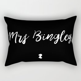 MRS BINGLEY Rectangular Pillow