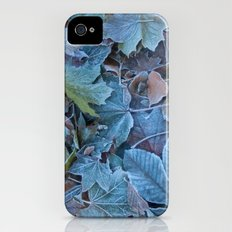 Frosted leaves Slim Case iPhone (4, 4s)