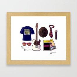 Darren's things Framed Art Print