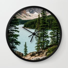 Lake Daze Wall Clock