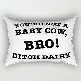 Ditch Dairy Rectangular Pillow