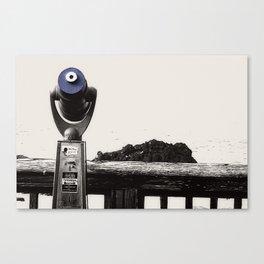 Newport Oregon - Telescope Business Canvas Print