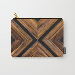 Urban Tribal Pattern 3 - Wood Carry-All Pouch