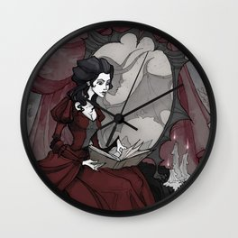 The Mirror of your Soul Wall Clock