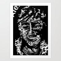 Text Me Art Print