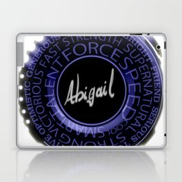 My Name is Abigail Laptop & iPad Skin