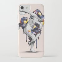 planet of the apes iPhone & iPod Cases featuring Apes Statue by Birgit Palma
